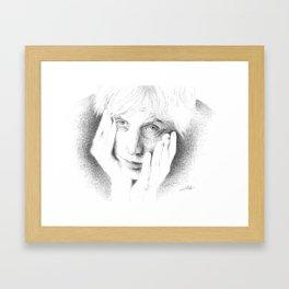 Rhys Ifans Framed Art Print