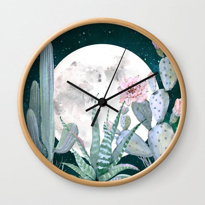 Desert Nights by Nature Magick Wall Clock