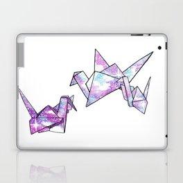 Origami Cranes Laptop & iPad Skin