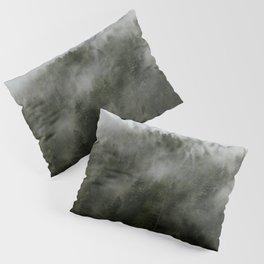 Pacific Northwest Foggy Forest Pillow Sham