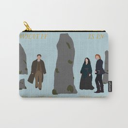 What if Your Future is in the Past? Carry-All Pouch