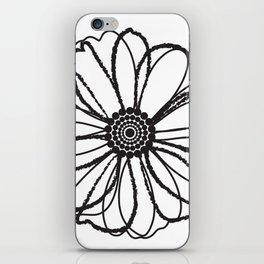 Anemone - Monotone Perennial iPhone Skin