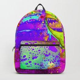 Alien Melt - yellow Backpack