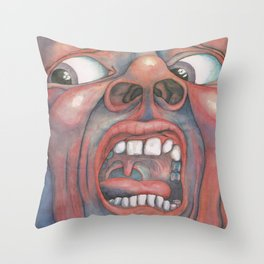 In the Court of the Crimson King Expanded Edition by King Crimson Throw Pillow