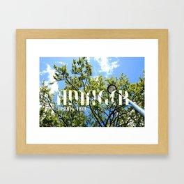 Amager - Spring Time Framed Art Print