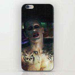 The Joker (Jared Leto) iPhone Skin