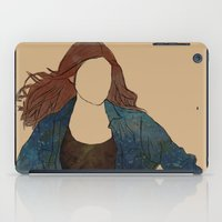 amy pond iPad Cases featuring The Girl Who Waited, Amy Pond by Diddly's Shop