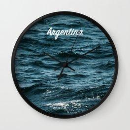 Almohada Argentina Pillow Wall Clock
