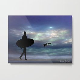 Good Night, Sweet Dreams Metal Print