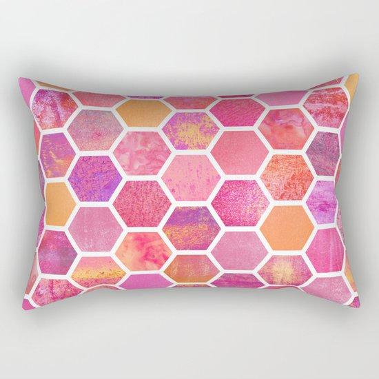 Flowers & Honey Rectangular Pillow
