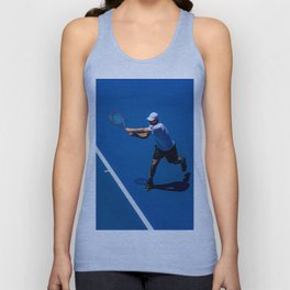 Tennis player Unisex Tank Top