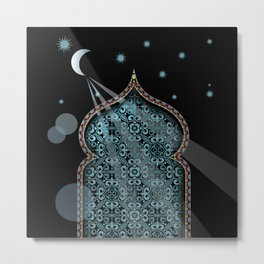 Persia Moonlight Metal Print