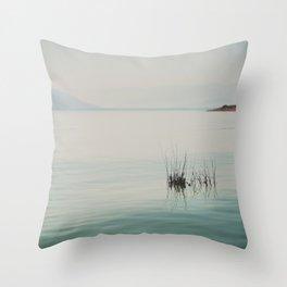 at peace ... Lake Isabella photograph Throw Pillow