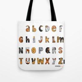 Perruna Font / Dog font Tote Bag