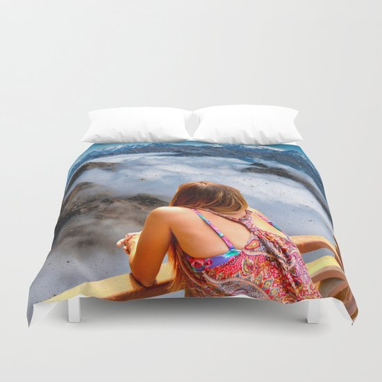 On the top Duvet Cover