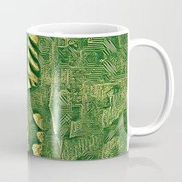 6778s-NLJ Motherboard Style Nude Woman Hand On Back Coffee Mug