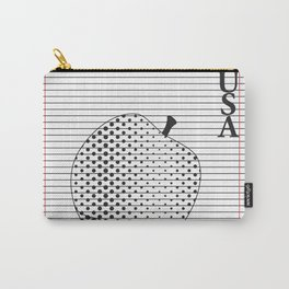 Apple to Paper Carry-All Pouch