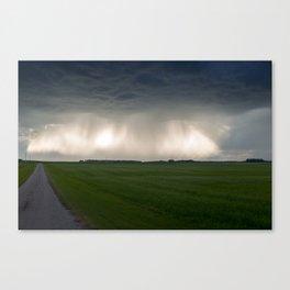 Sunbeams and Rain Canvas Print