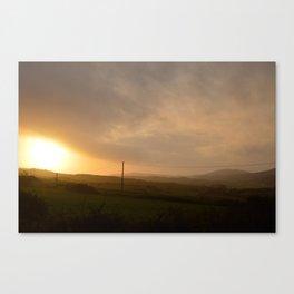 Golden Hour, West Cork Canvas Print