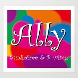 Ally-2 Art Print