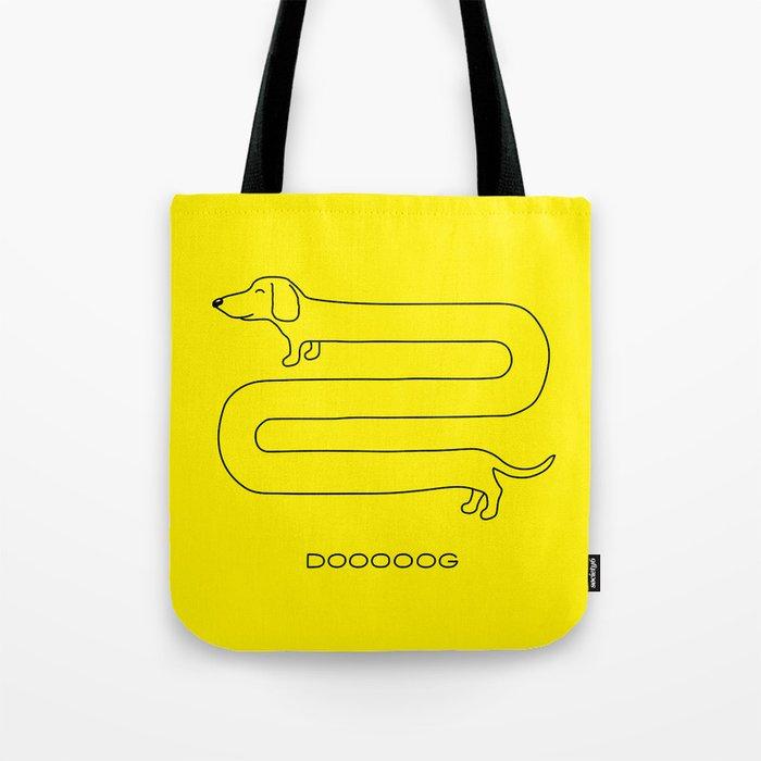 Dooooog Tote Bag