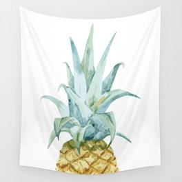Pineapple Topper Wall Tapestry