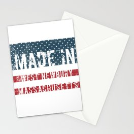 Made in West Newbury, Massachusetts Stationery Cards