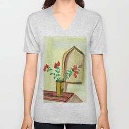 Touch of red Unisex V-Neck