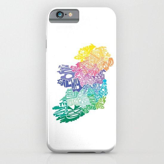 Typographic Ireland iPhone & iPod Case