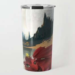 Dragonlings of Valdier: Amber Travel Mug