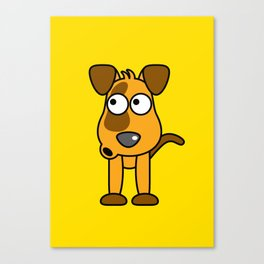 Ooh Zoo – Dog Canvas Print