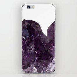 Amethyst Crystal Bouquet iPhone Skin