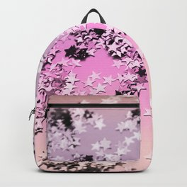 Unicorn Girls Glitter Stars #8 #shiny #decor #art #society6 Backpack