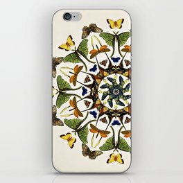 Kaleidoscope with Wings iPhone Skin