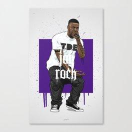 Jay Rock Canvas Print