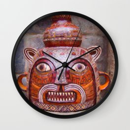 Traditional ceramic pot Wall Clock