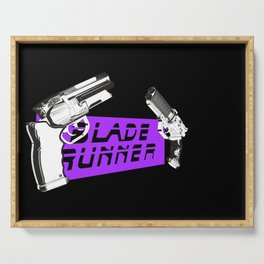 Time to die Version Neon Purple Serving Tray