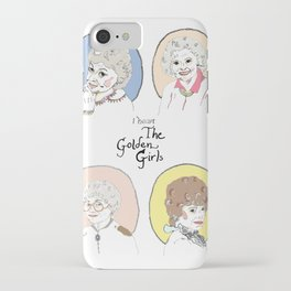 I Heart the Golden Girls Print iPhone Case