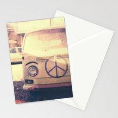 Happy VW Van Polaroid Stationery Cards