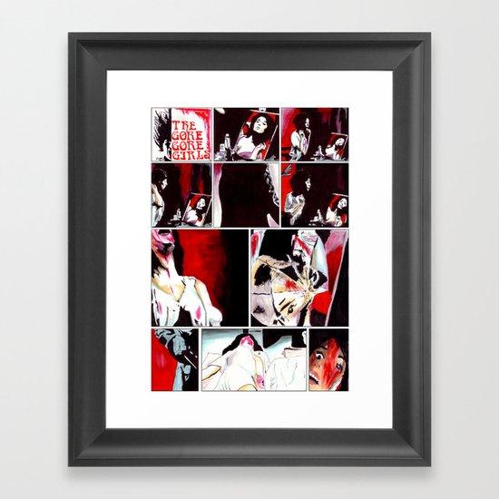 The Gore Gore Girls Framed Art Print