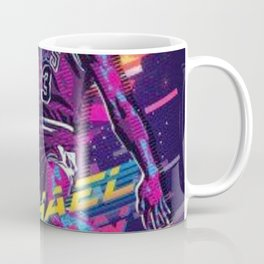 MichaelJordan retro ilustration Coffee Mug