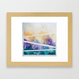 Clouded Judgement No. 1 Framed Art Print