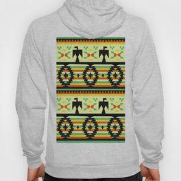 American Native Pattern No. 119 Hoody