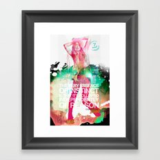 MOSSition Framed Art Print