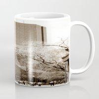 boston Mugs featuring Boston by Raymond Earley