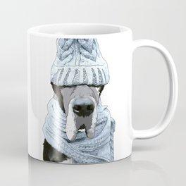 Great Dane Winter is Here Coffee Mug
