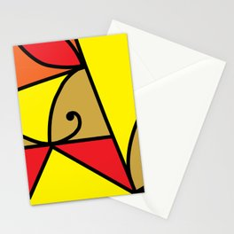 M5 Red Stationery Cards