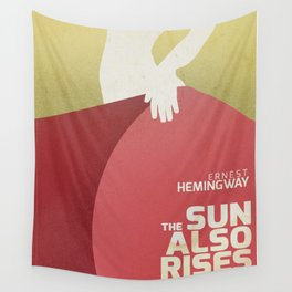 The sun also rises, Fiesta, Ernest Hemingway, classic book cover Wall Tapestry
