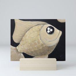 Gold Fish Mini Art Print