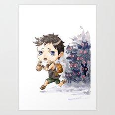 Loot Art Print